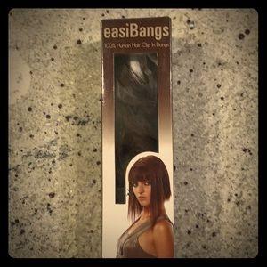 EasiBangs 100% Human Hair Clip in Bangs